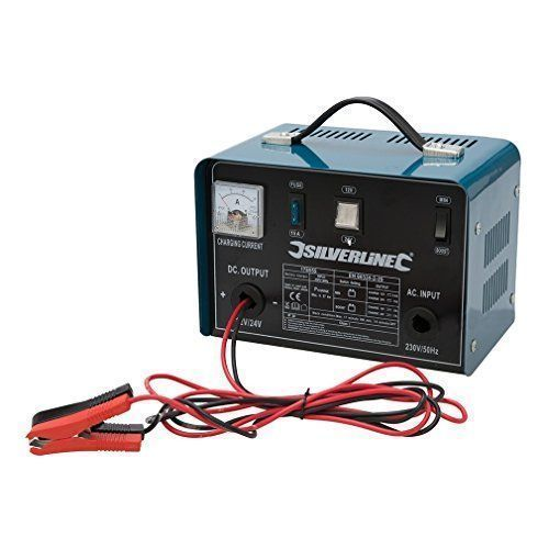 cargador de bateria silverline