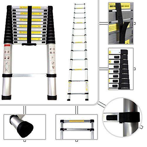 Escalera Telescópica aluminio