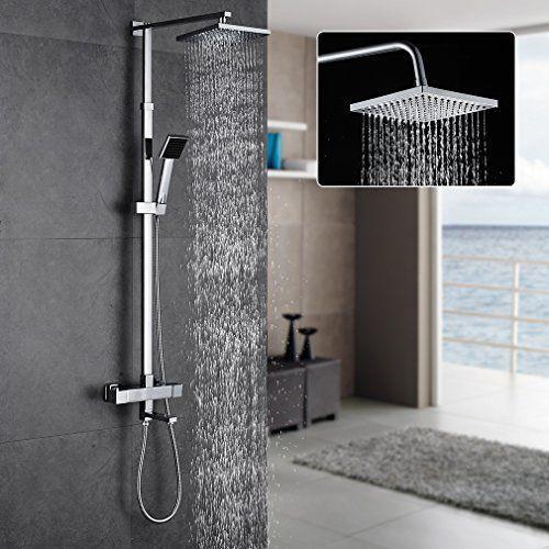 Auralum Barra de ducha termostatica