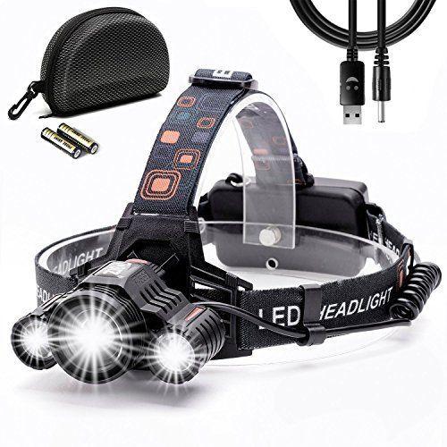 comprar Linterna frontal LED Super Brillante de Cobiz