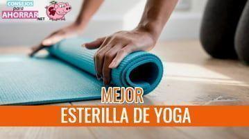 mejor esterilla de yoga
