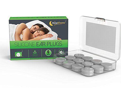Tapones para los oídos de silicona SleepDreamz