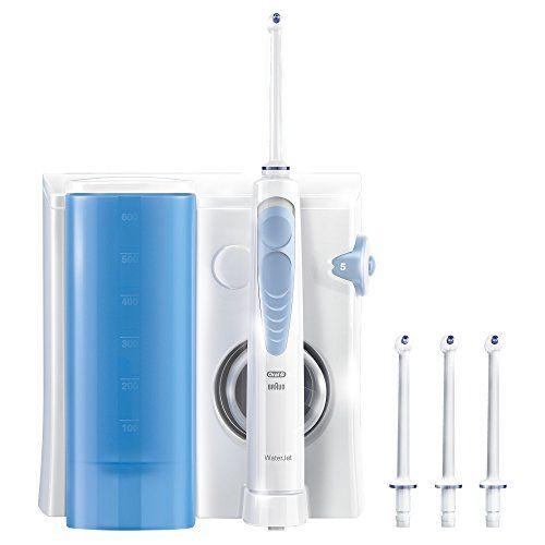 Sistema De Limpieza Irrigador Bucal Oral-b Waterjet Incluye 4 Cabezales Tecn