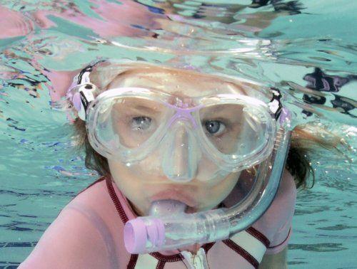 gafas de snorkel