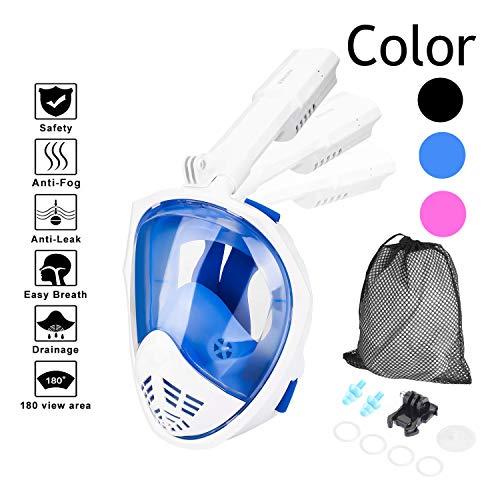 HOVNEE Máscara de buceo 180 ° tecnología panorámica