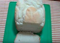 receta de pan sin gluten en panificadora