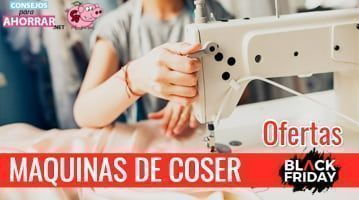 ofertas maquina de coser black friday