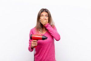 secador de pelo silencioso