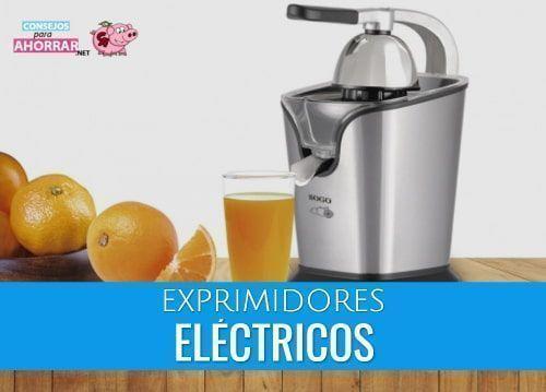 mejores exprimidores electricos